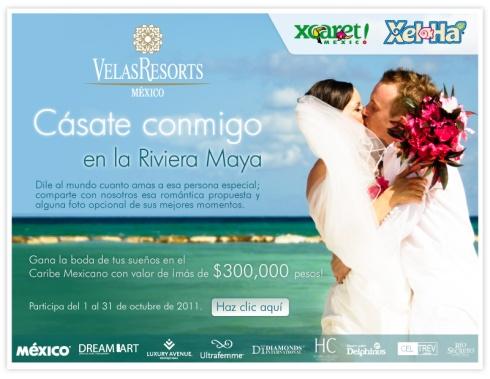 VELAS MEXICO WEDDING CONTEST